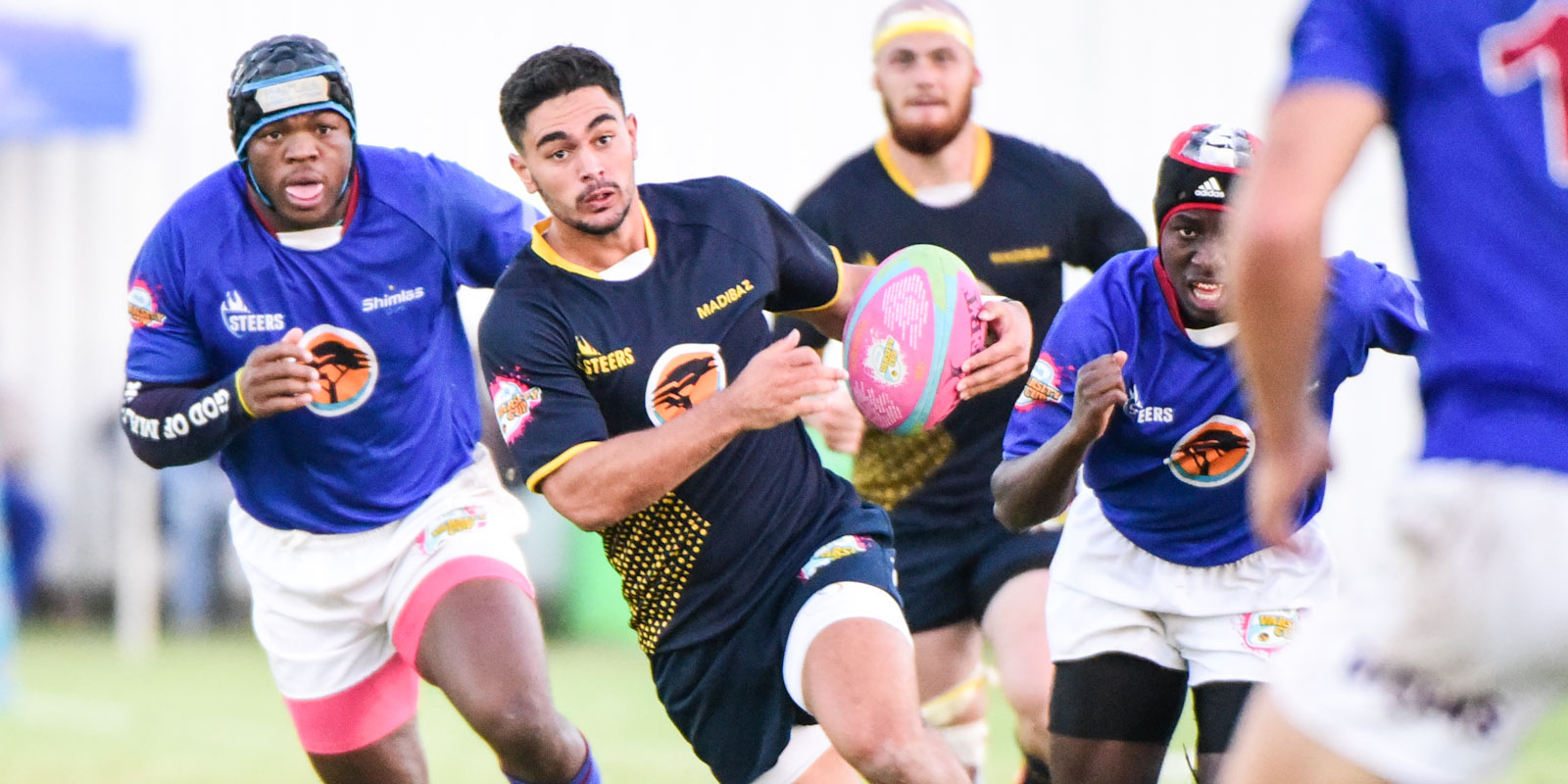 Madibaz on attack against Shimlas.