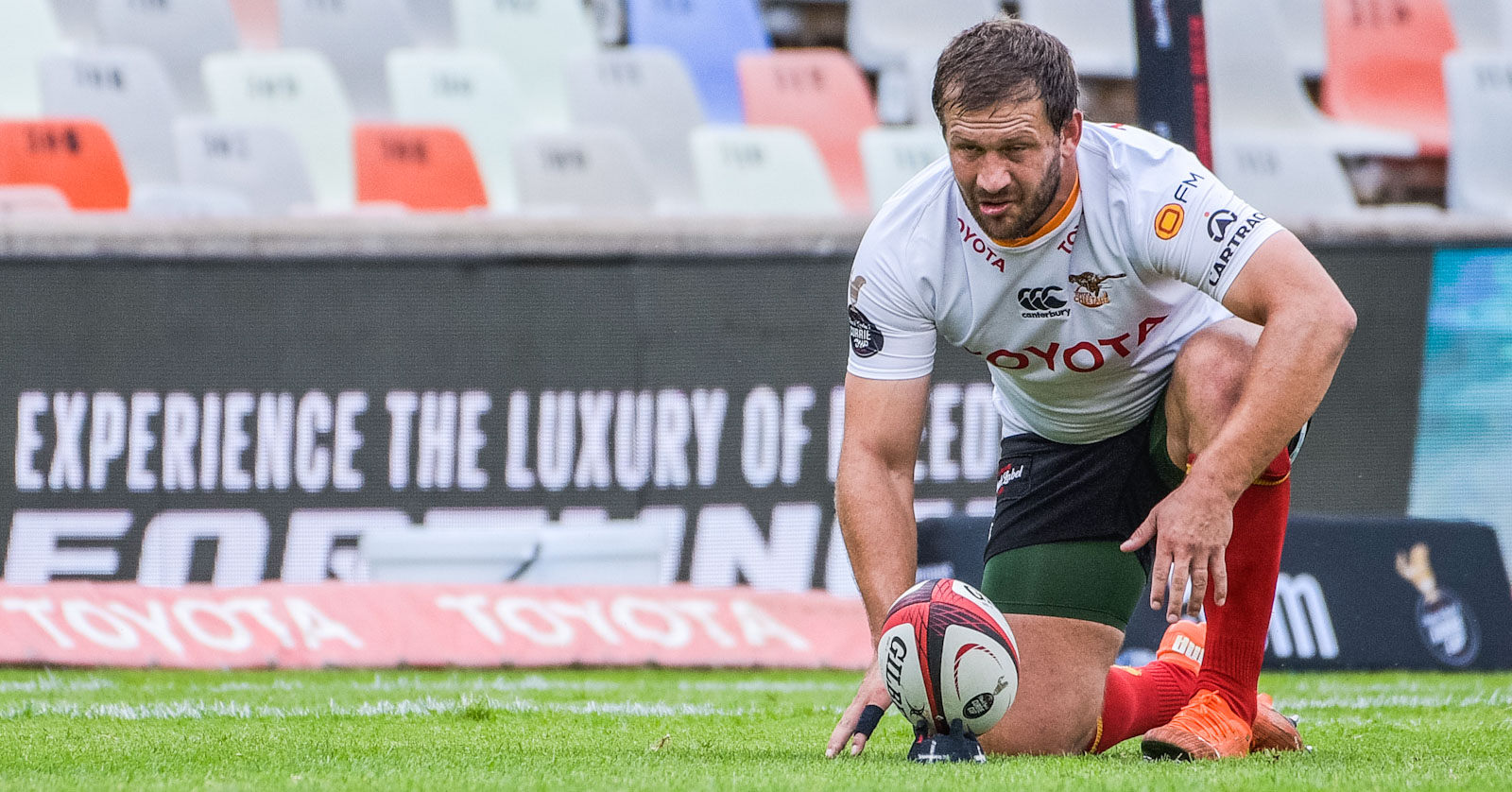 Frans Steyn kicked 19 points for the Toyota Cheetahs