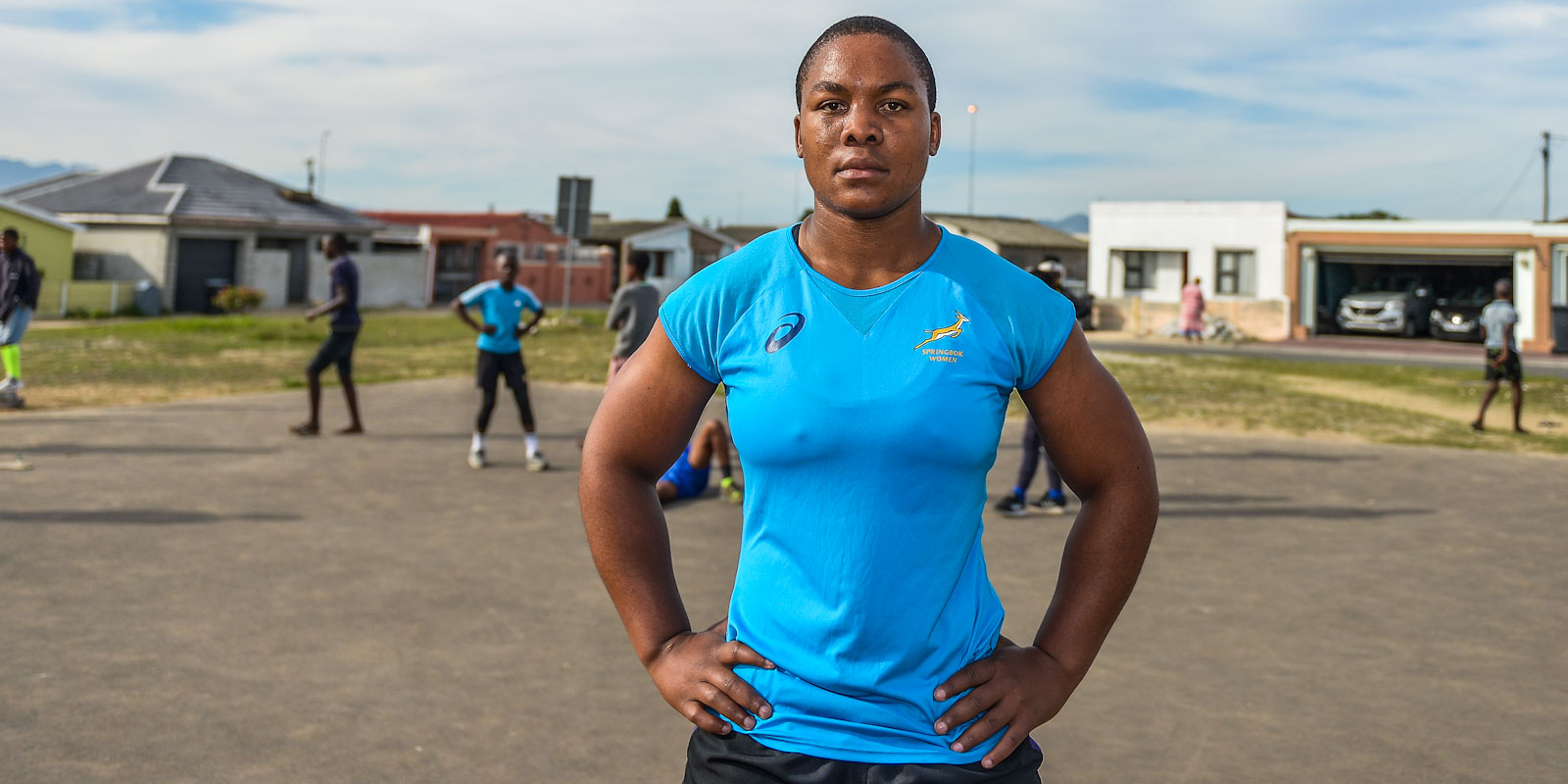 Babalwa Latsha embraces her new role off the field