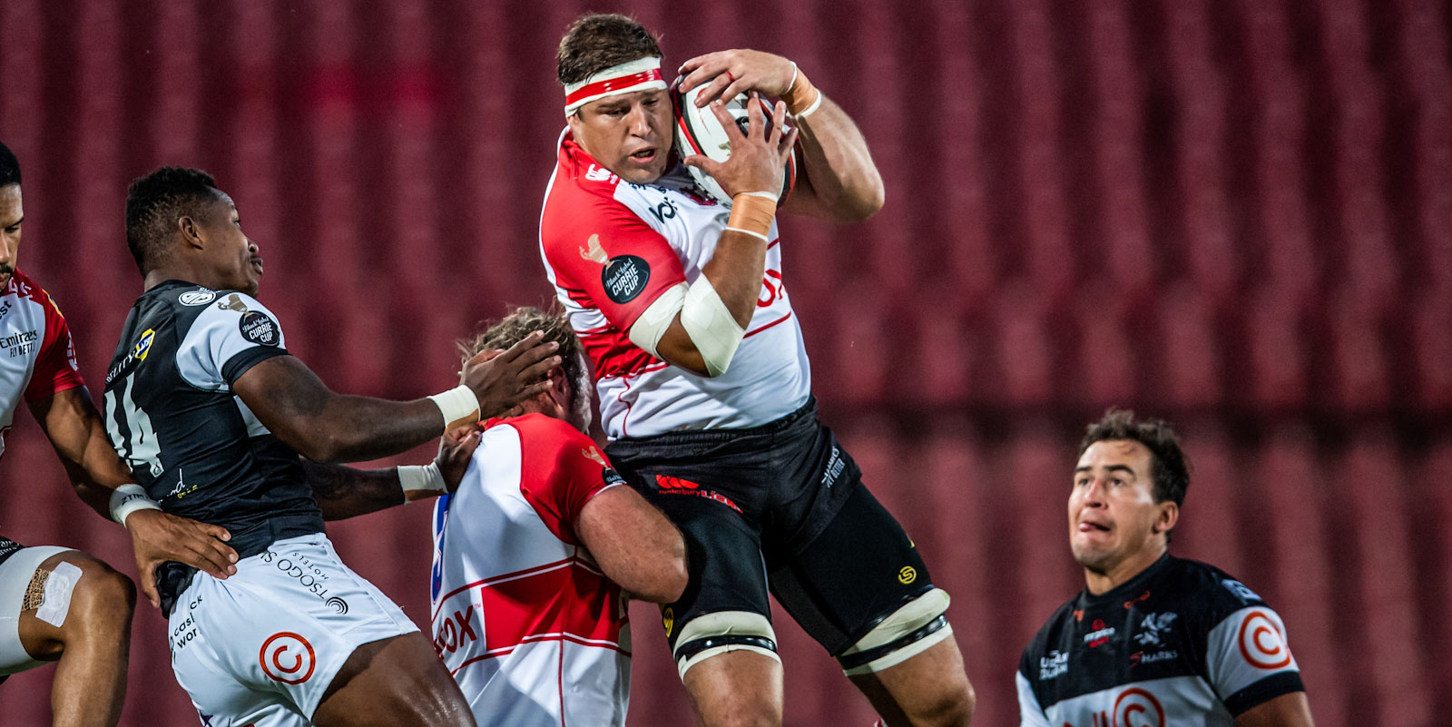 Willem Alberts was Man of the Match on the back of a strong defensive effort