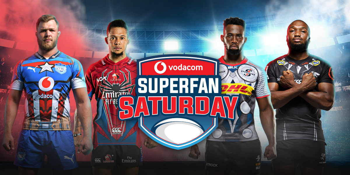 Vodacom Super Fan Saturday is scheduled for 26 September in Pretoria
